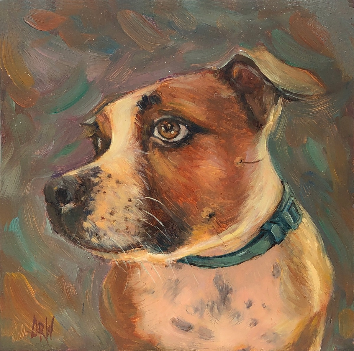 2020 Darla 10x10 oil on panel