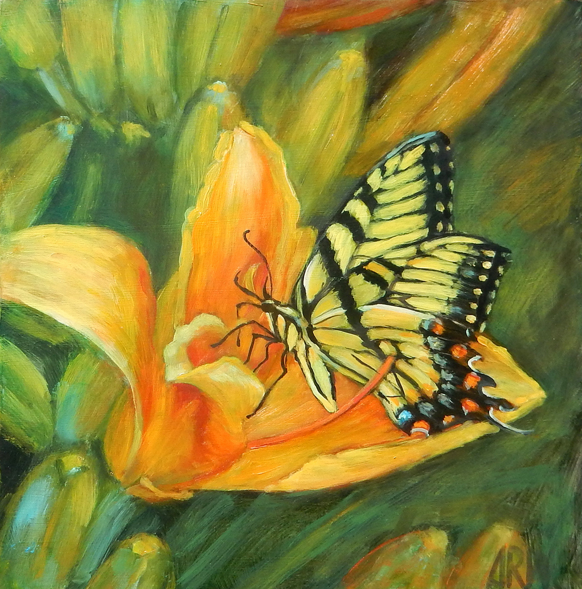 2020 Monarch Butterfly 10x10 o/p