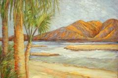 2000 Baja Beach 40x30 acrylic on canvas