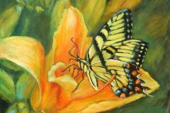 2020 Monarch Butterfly 10x10 o/p