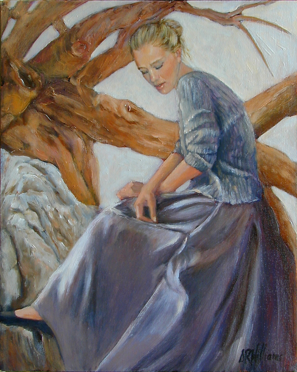 2001 Amanda 18x24 oil on canvas