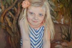 2017 Aubrey by Tree 12x16 oil-canvas