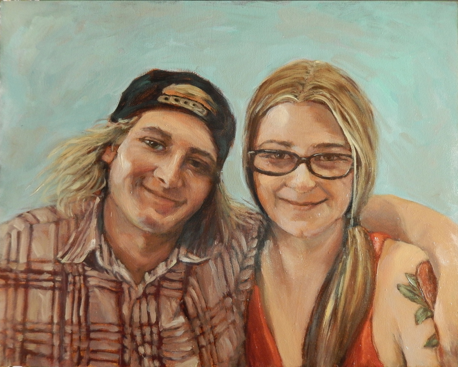 2019 Kelly and Stevey 20x16 oil-panel