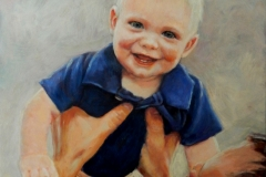 2019 Baby Wes in Air 12x16 o-p