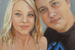 2019 Lindsey and Brett 12x16 oil-canvas
