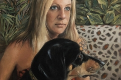 2020-Jennifer-and-Rover-16x20-oil-on-linen-l-r