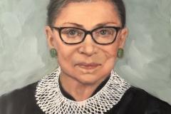 2020 Ruth Bader Ginsbrg 11x14 o/p