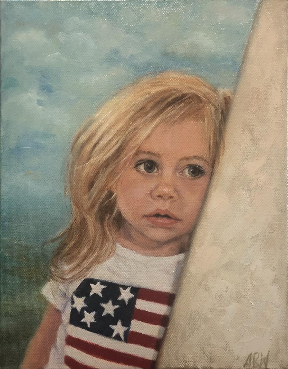2021 Kinsley 11x14 oil on canvas